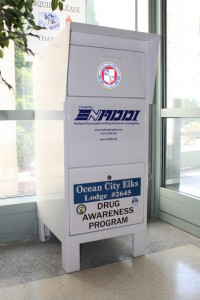 Drug Drop Box at the Public Safety Building