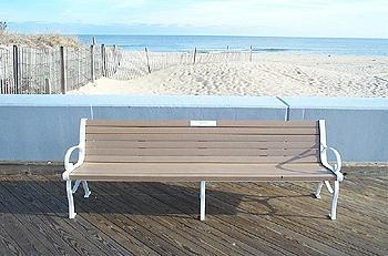 Boardwalk Bench Dedication – Town of Ocean City, Maryland