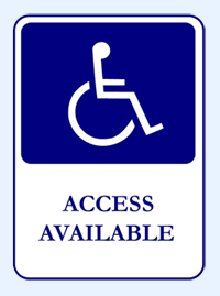 Handicap Access Available