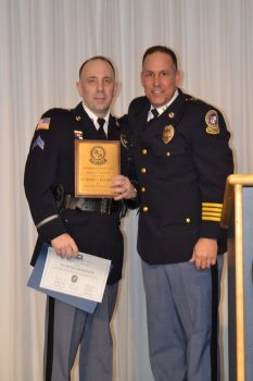 Cpl. Michael Richardson Named 2017 OCPD Officer of the Year