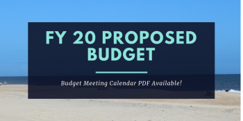 FY 20 Proposed Budget