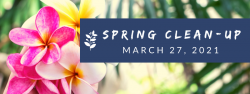 Spring Clean Up for March 27th
