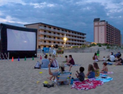 Movies on the Beach @ 27th Street Beach