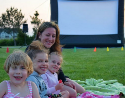 Spring Family Movie Night in the Park @ Northside Park