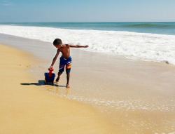 Family Beach Games @ Carousel Hotel, 118th Street Oceanfront