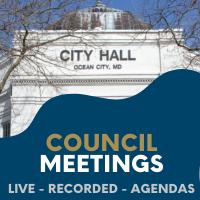 Ocean City Council Meetings